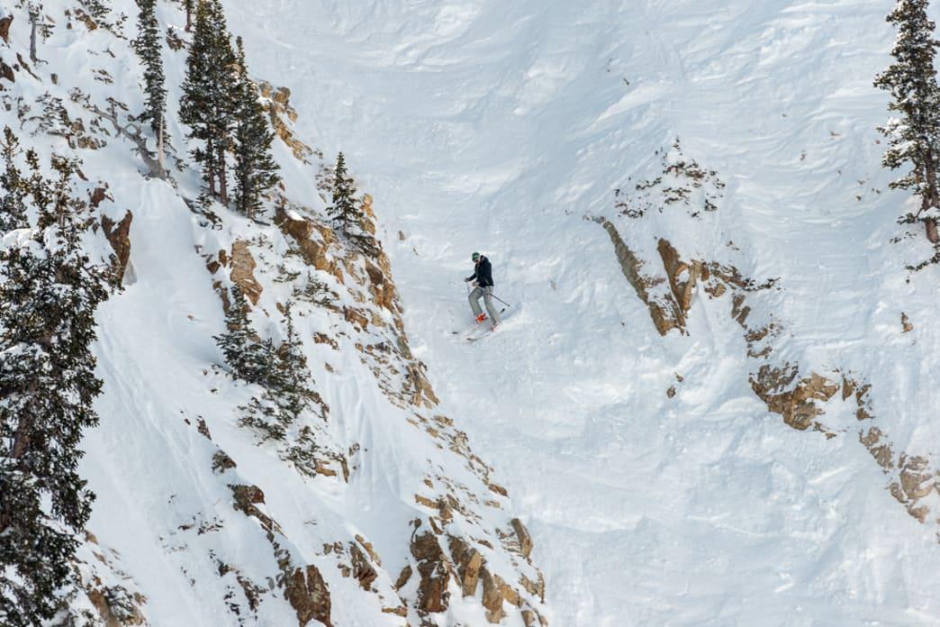 scariest ski runs Snowbird Great Scott