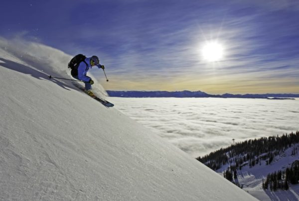 The world class skiing is just one of many reasons to visit Jackson Hole in winter.